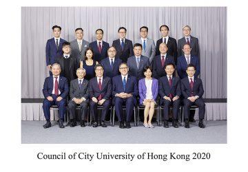 Council of City University of Hong Kong 2020 Photo